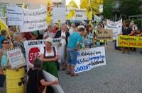 Günzburg, 5.9.13 - Demo gegen AKW Gundremmingen