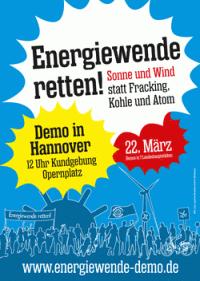energiewende demo hannover
