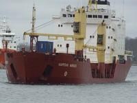 Transport von radioaktivem Urandioxid (UO2) auf dem Seeweg, Foto: SAND Hamburg