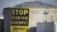 Greenpeace-Aktion am AKW Fessenheim, 28.03.2014; Bild: Greenpeace