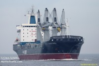 Atomtransportschiff Golden Karoo, Bild: marinetraffic.com