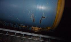 12.05.2014 - Neuer Generator für das AKW Grohnde, Bild: Regionalkonferenz AKW Grohnde abschalten