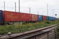 Hamburg: Güterzug mit Urancontainern