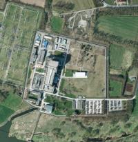 AKW-Standort Würgassen; Bild: google
