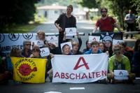 Blockade der Brennelementefabrik von Areva in Lingen; Bild: Visual Rebellion