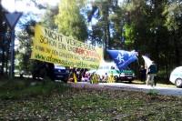 14.10.2014 - Blockade der Atomfabrik Lingen