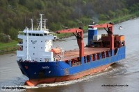 "Atommüll Schiff ""PARIDA"", Bild: marinetraffic.com"