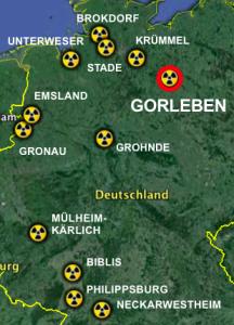 Alle Wege führen nach Gorleben: Absender von Atommüll in das Abfalllager seit 2000